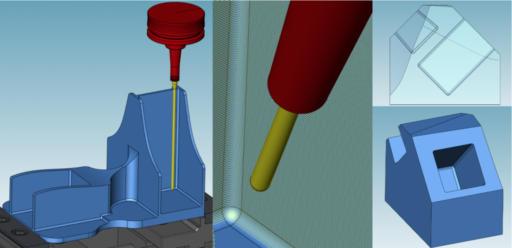 バレル工具加工イメージ