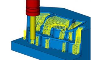 3D最適化等高線荒加工