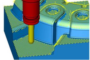 3D 走査線仕上げ加工