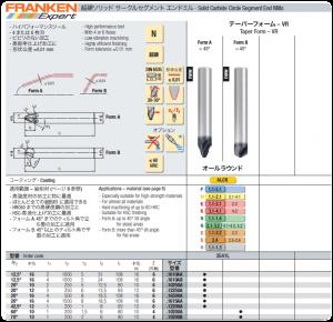 バレル工具データベース