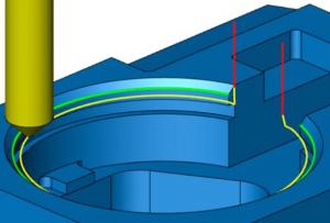 2D 面取り加工(3Dモード)