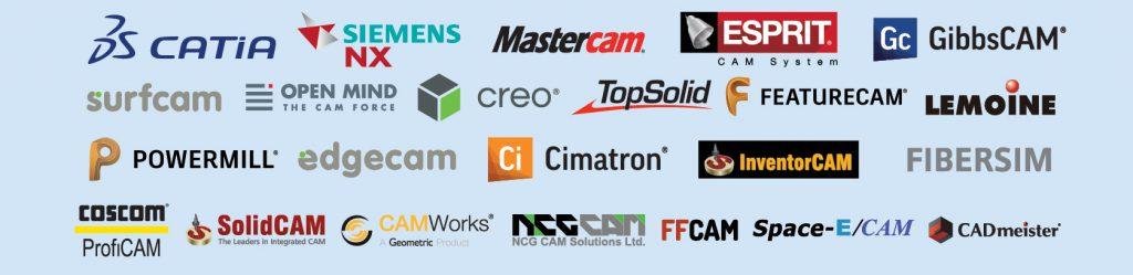 CAD/CAMインターフェース対応一覧ロゴ