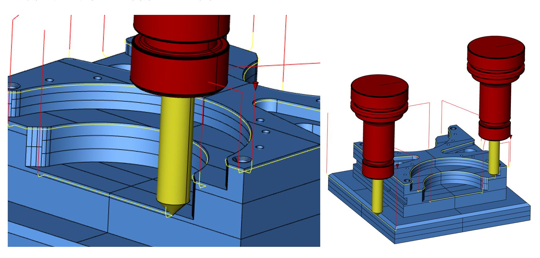3Dモデルを活用した面取り加工