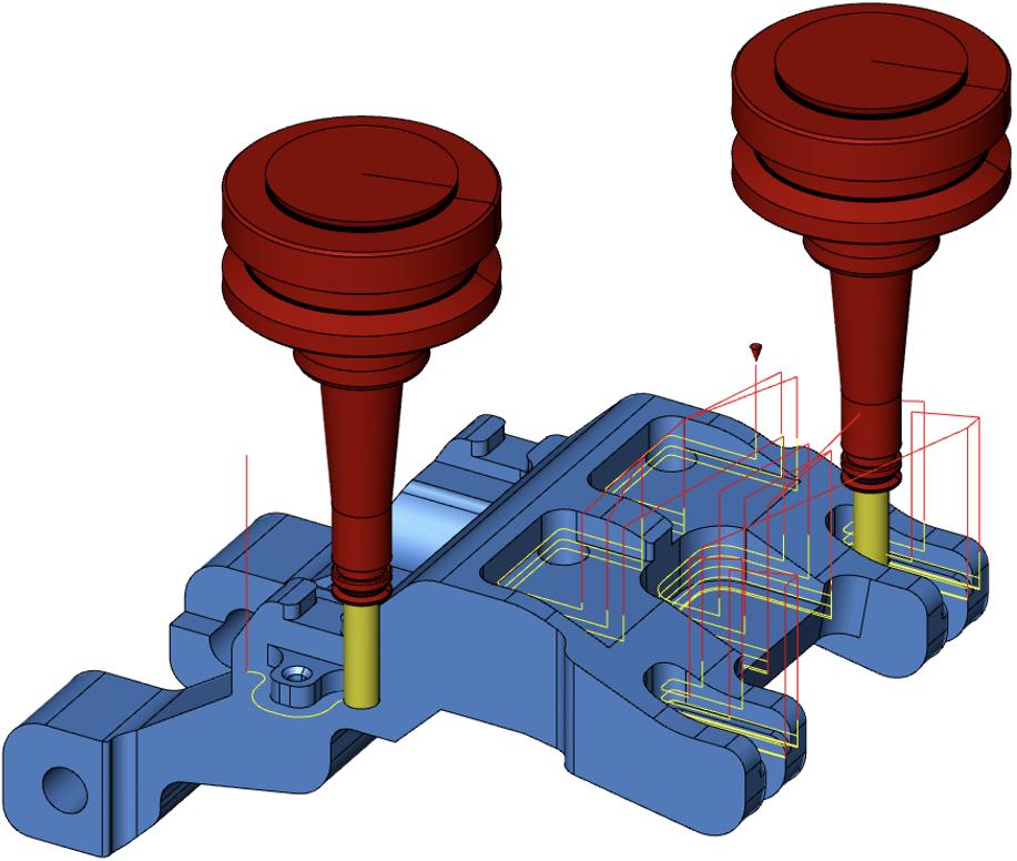 3Dデータ活用!直感的操作で2軸加工を素早く安全に行います